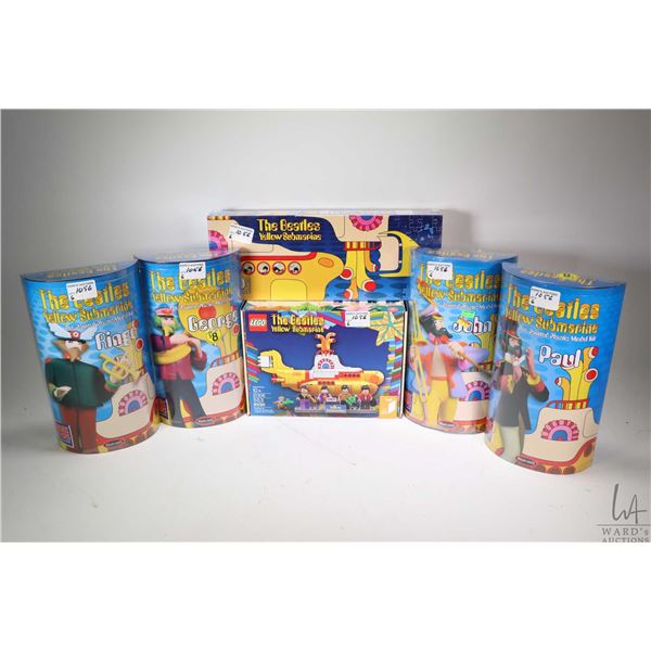 Selection of Beatles Yellow Submarine items including 1000 pce. jigsaw puzzle still factory sealed,