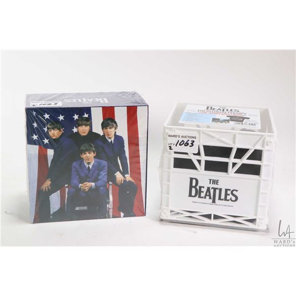 Two Beatles collector CD packs including The Ultimate Fan Pack with remastered Abbey Road CD in Beat