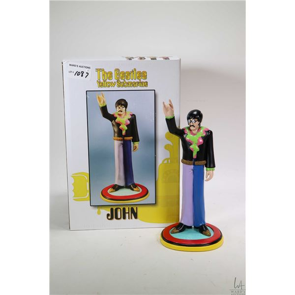 Boxed Beatles Yellow Submarine John Lennon figure by Knucklebonz, appears new in box
