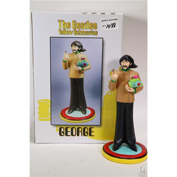 Boxed Beatles Yellow Submarine George Harrison figurine by Knucklebonz, appears new in box