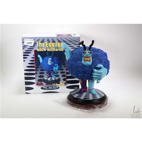 """Boxed Beatles """"Chief Blue Meanie"""" figurine by Knucklebonz, appears new in box"""