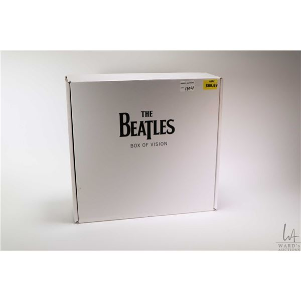 """New in box """"The Beatles"""" Box of Vision CD and liner notes storage box"""