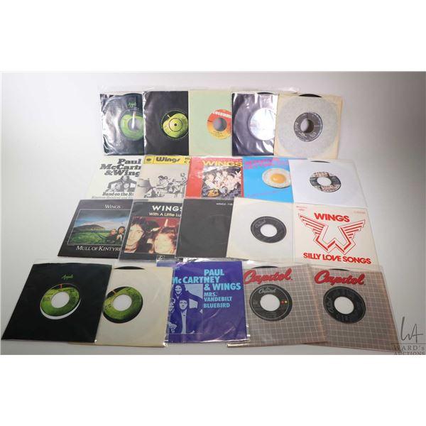 "Twenty 45 rpm  Paul McCartney and Paul McCartney and Wings singles including ""Getting Closer"" Japan"