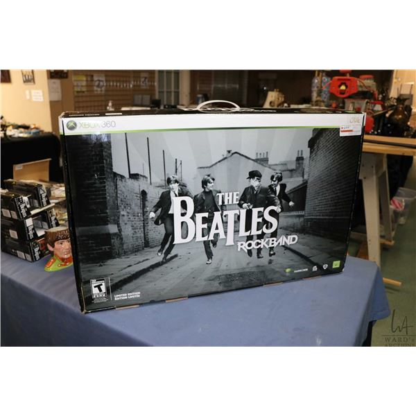 """New in package """"The Beatles Rock Band"""" for X-box 360"""