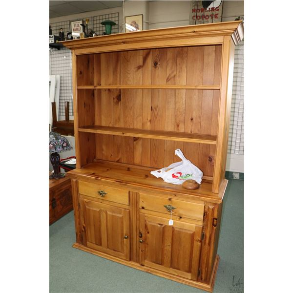 Modern pine welsh dresser made in Canada by House of Brougham