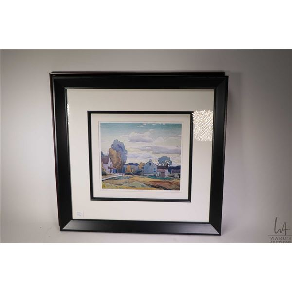 """Two limited edition A.J. Casson prints """"Rooftops"""" and """"Twilights"""""""