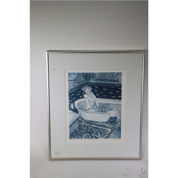 """Two limited edition prints including """"Sunday Morning"""" 4/50 and """"Mother's Bath"""" 62/300 both pencil si"""