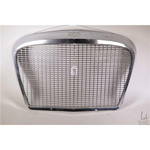 1964 Studebaker chrome grill