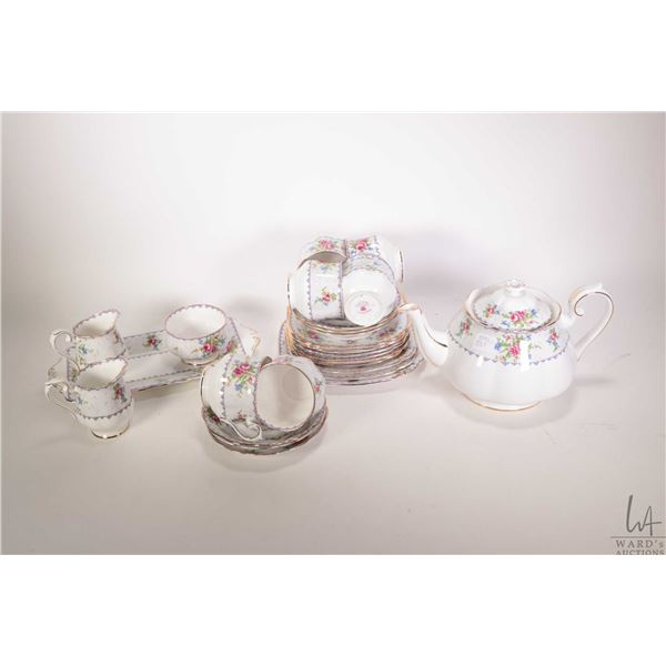 Selection of Royal Albert Petit Point including seven side plates, three graduated side plates, six