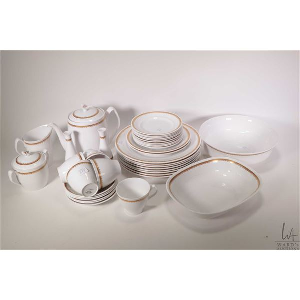"""Selection of Spode China """"Elizabethan"""" including eight dinner plates, two side plates and ten bread"""