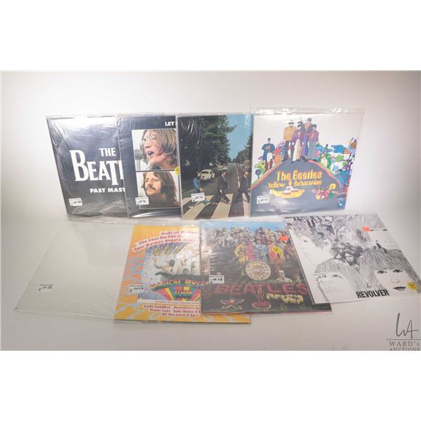 """Thirteen Beatles LPs including """"Beatles For Sale"""" (Mono UK pressing), """"Hard Day's Night"""" (UK), """"Yell"""