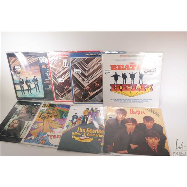 """Seven Beatles LPs including """",The Beatles 69-70"""" """"The Beatles 62-66""""( both US pressings), """"A Collect"""