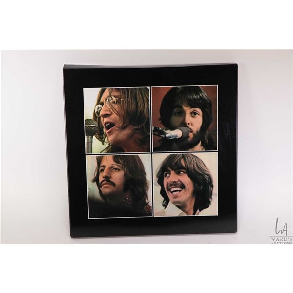 """Reissue """"Let it Be"""" boxed set including LP and book, made in the UK"""