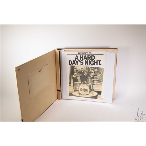 Album containing twenty four Beatles sheet music including Yesterday, Let It Be etc.