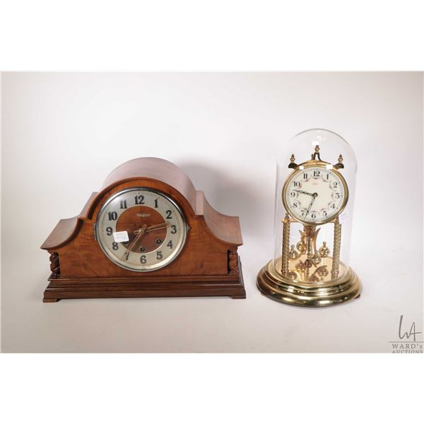 Two vintage clocks including a Black Foret
