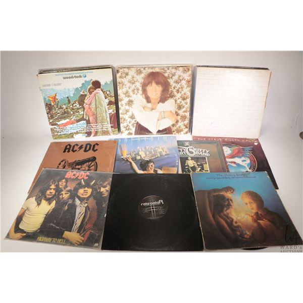 Twenty four LPS including Pink Floyd The Wall, complete with original posters, Ambrosia, Supertramp,