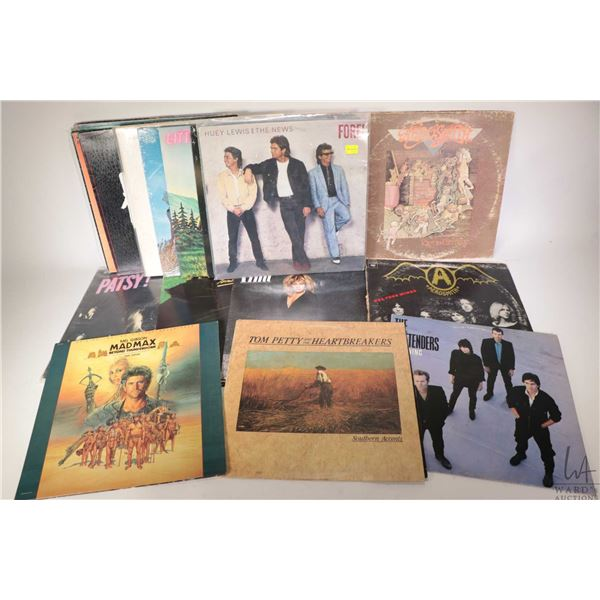 Twenty four LPs including REO Speedwagon- You can tune a piano but you can't tune a fish, Aerosmith,