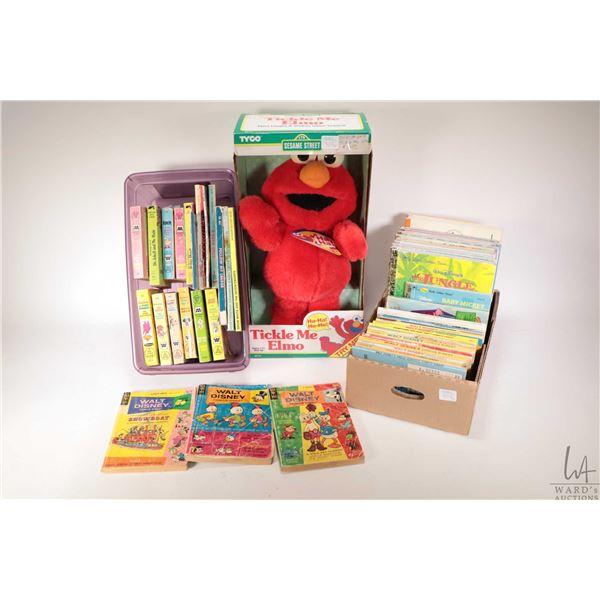 "Selection of children's books including several ""A Little Golden Book"", several Walt Disney comic di"