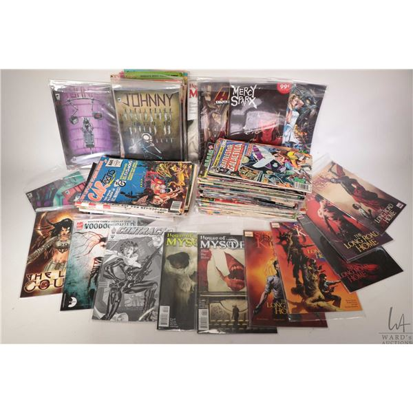 Selection of approximately one hundred and seventeen comic books including Battlestar Galatica, Turo