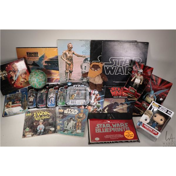 Selection of Star Wars collectibles including new in package Hasbro/Kenner from Revenge of Sith, Att