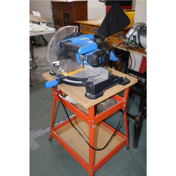 """Mastercraft 10"""" compound mitre saw with stand"""