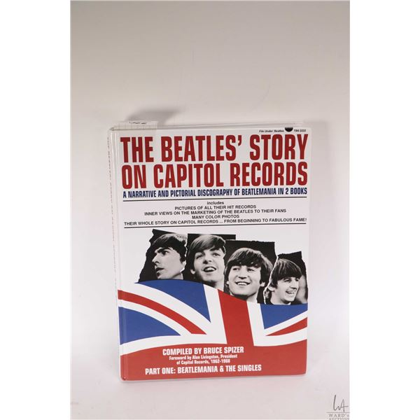 """Hardcover copy of ?The Beatles' Story on Capitol Records * Part One"""""""