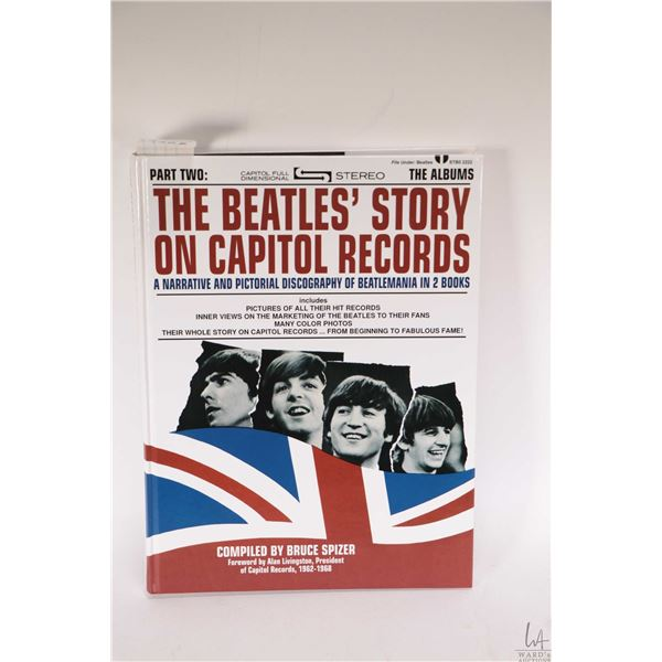 """Hardcover copy of """"The Beatles' Story on Capitol Records * Part Two"""
