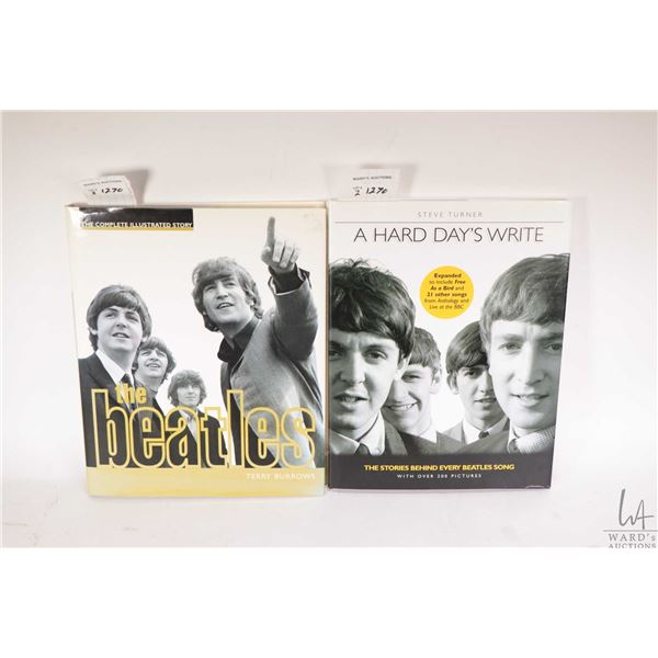 """Two Beatles collectible books including """"A Hard Days Write"""" etc."""
