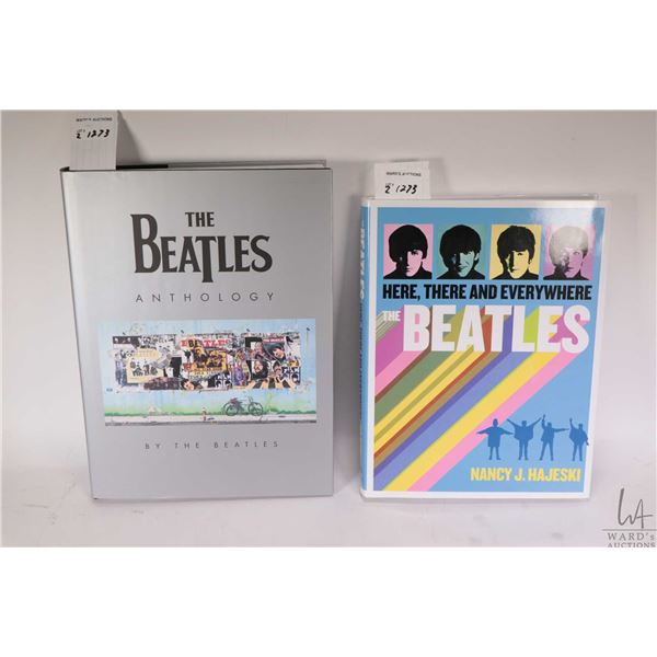 """Two hardcover Beatles collectible books including """"The Beatles Anthology by the Beatles"""" etc."""