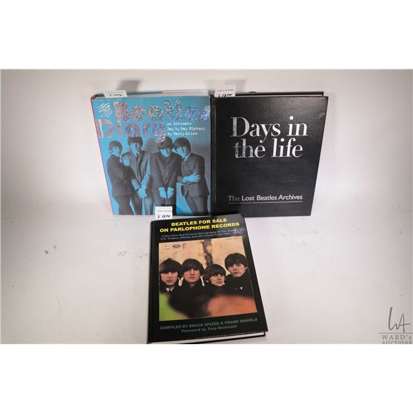 """Three Beatles collectible books including three hardcover """"Days In the Life- The Lost Beatles Archiv"""