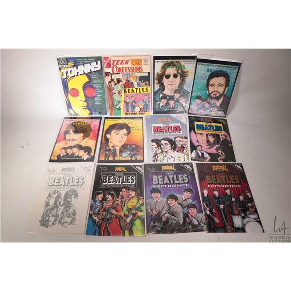 Eleven Beatles related comic books including five Rock n' Roll Comics- The Beatles Experience etc.