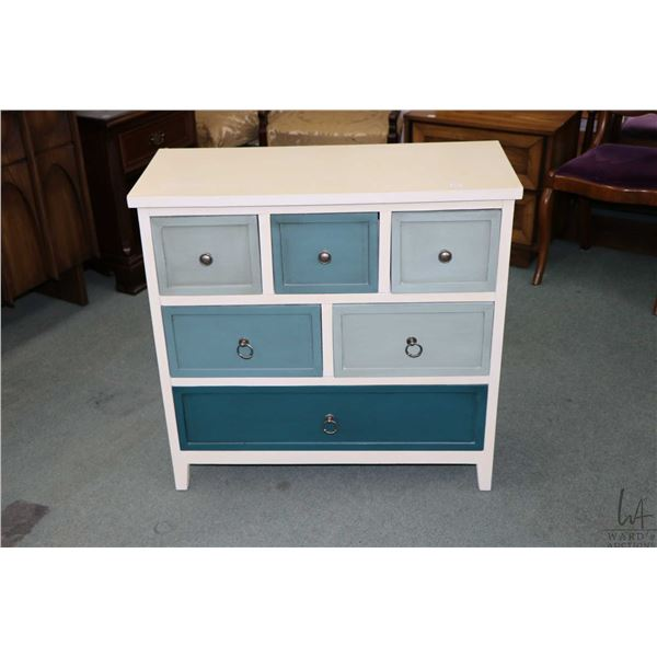 Small six drawer painted dresser