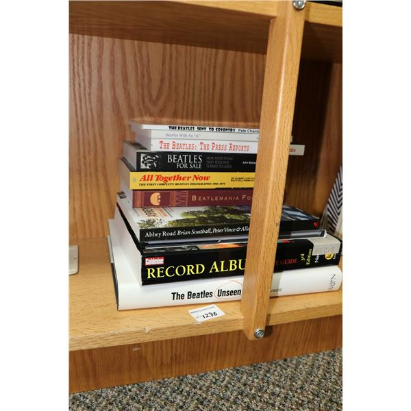 """Selection of Beatles and Beatles related books including ?The Beatles Unseen"""" by Mark Hayward"""", """"Abb"""
