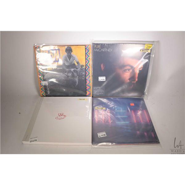 "Selection of Paul McCartney LPs including ""Ram"" (Canadian), factory sealed ""New-Paul McCartney"" ( EU"