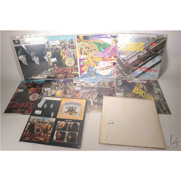 """Selection of LPs including Beatles and Beatles related including """"Monty Python Parody- The Ruddles"""","""