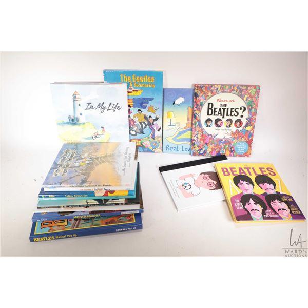 """Fourteen Beatles themed children's books including """"John Lennon Imagine"""", """"Fab Four Friends"""", """" The"""