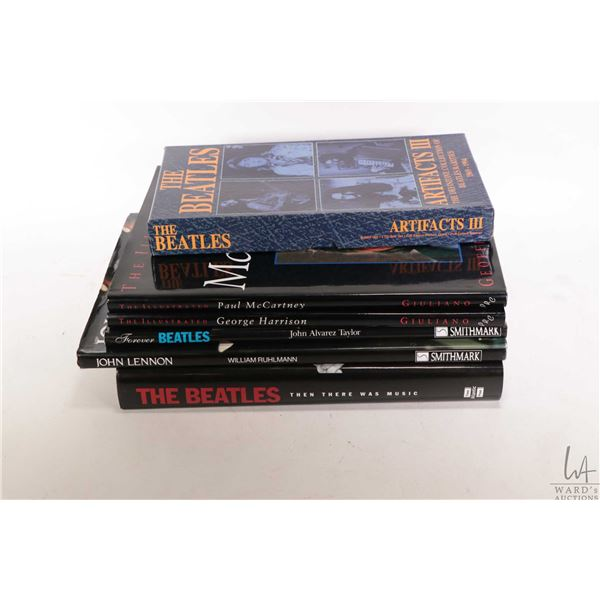 """Selection of Beatles and Beatles related including """"Then There Was Music"""", """"The Illustrated Paul McC"""