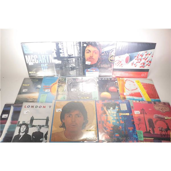 """Fifteen McCartney records including factory sealed """"McCartney II"""", factory sealed """"London Town"""" ( US"""