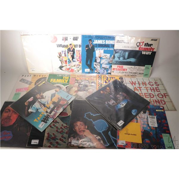 """Fourteen Paul McCartney albums including factory sealed """"Take it Away"""" ( Columbia), """"Back to the Egg"""