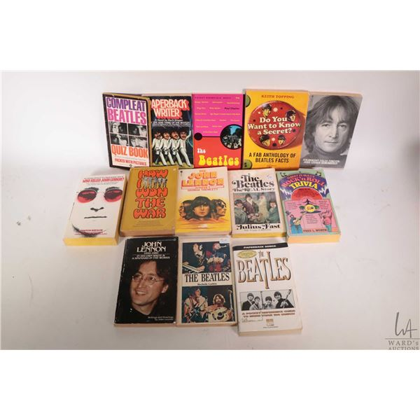 """Selection of Beatles and Beatles related pocket books including """"Who killed John Lennon"""", """" Do You W"""