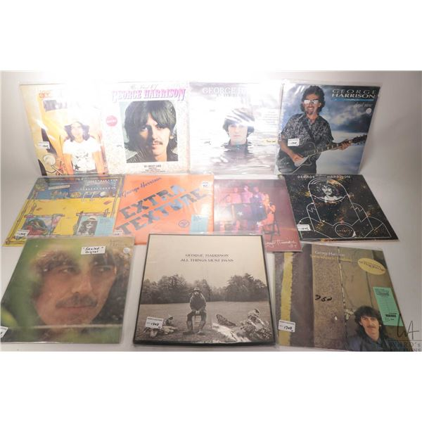 """Eleven George Harrison LPs including """"Cloud Nine"""", """"Early Takes Vol. I"""", """"Brainwashed"""", """"Somewhere i"""