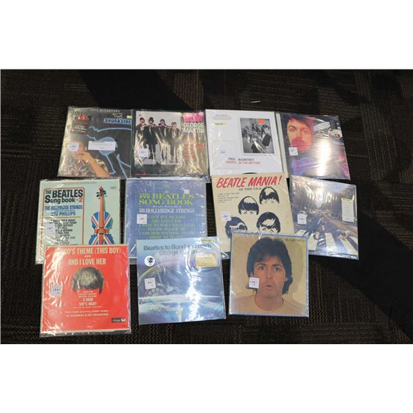 """Eleven Beatles on related LPs including """"Kisses on the Bottom"""", """"Red Rose Speedway"""", George Martin a"""