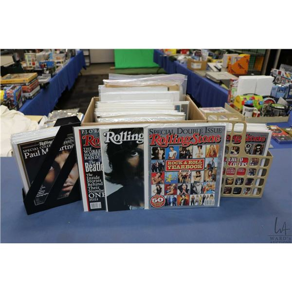 Large selection of collectible magazines, all are either Beatles covers or have Beatles related arti
