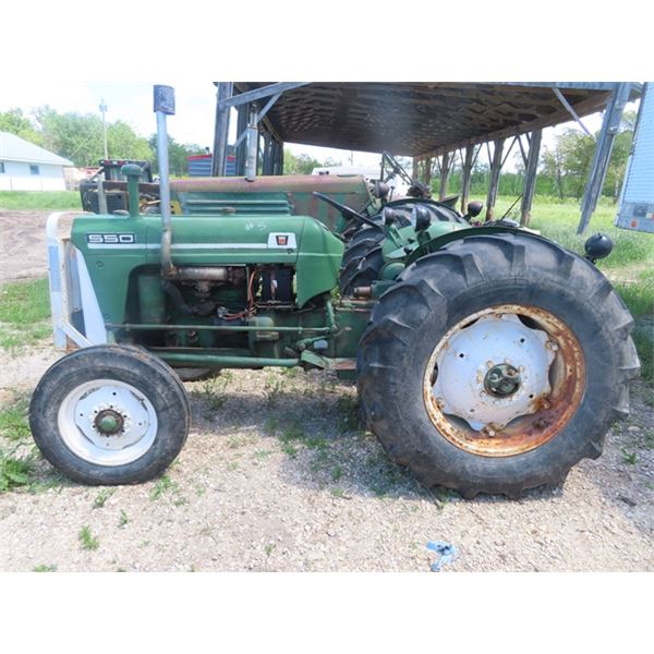 Oliver 550 Gas 6 Spd 3 PH 540 PTO 5384 Hrs S#117495519