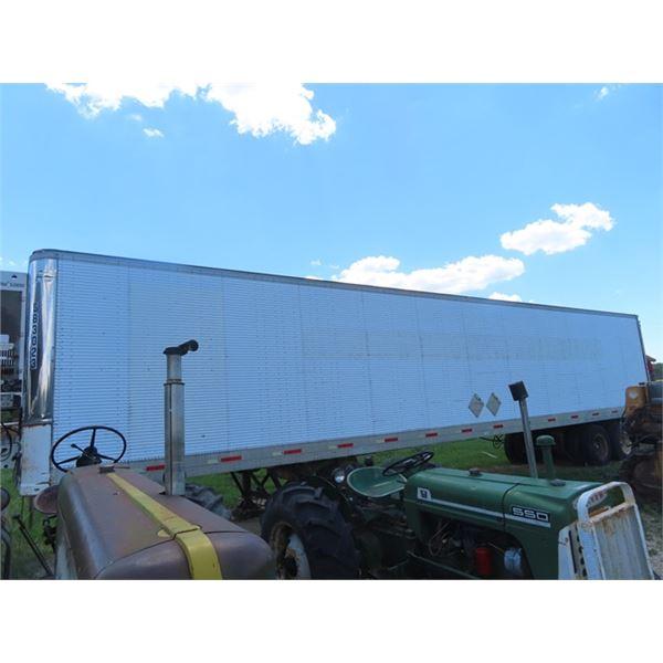 85 Fruehauf 48' Semi Freight Trailer w Reefer S#2H8R04823G5003906 -W TOD