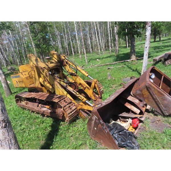 JD 350 Parts Crawler - Not Complete w FEL & Bucket