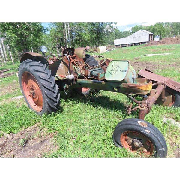 Oliver 77 Row Crop Parts Tractor