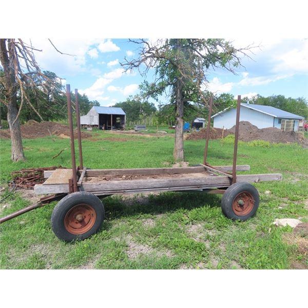 4 Wheel Farm Wagon - Beams 14'