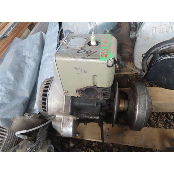 2 Kohler 1 Cylinder Snowmobile Engines (295 Turns Over) & (295 is Siezed)