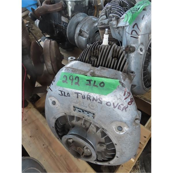 JLO 292 1 Cyl Snowmobile Engine - Turns Over